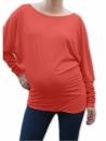 Tehotenské tričko dlhý rukáv, tunika